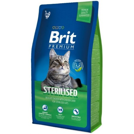 Brit Premium Cat Sterilised 1,5kg NEW + Sleva 5% od 2ks