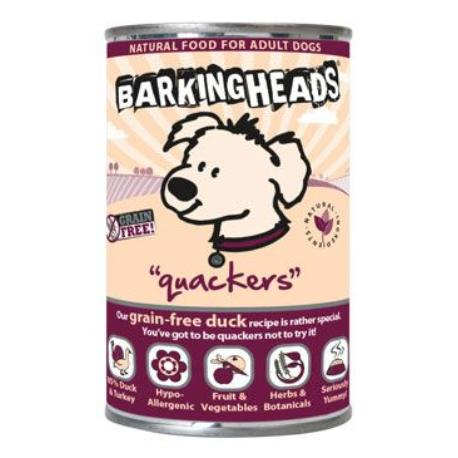 BARKING HEADS Quackers konz. 400g new
