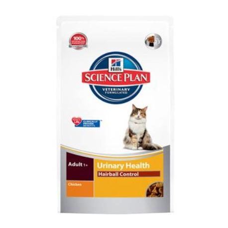 Hill's Feline Dry Adult Urinary Hairball Control 1,5kg