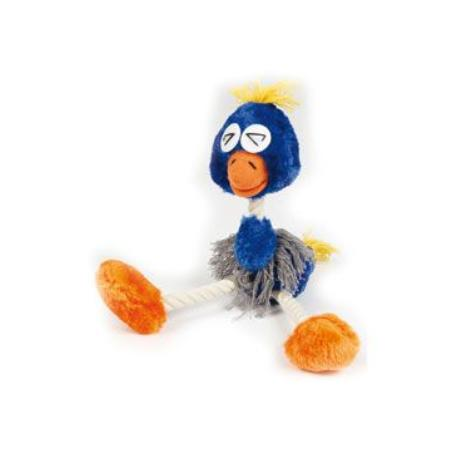 Hračka Pes Bavlna Pták Funny Bird&Ropes 30cm Lill