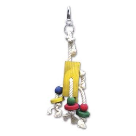 Hračka pro velké papoušky 25 cm