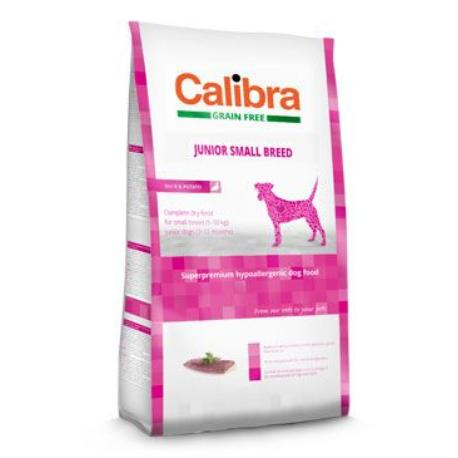 Calibra Dog GF Junior Small Breed Duck 2kg NEW + Sleva 5% od 2ks