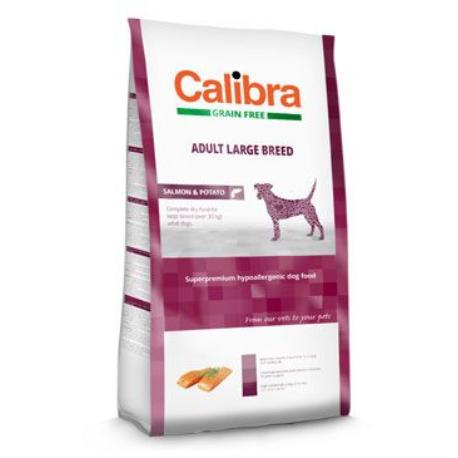Calibra Dog GF Adult Large Breed Salmon 2kg NEW + Sleva 5% od 2ks