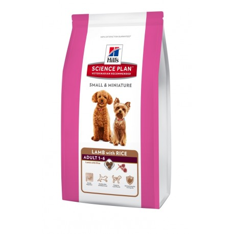Hill's Canine Dry Adult Small&Mini Lamb-Rice 1,5kg