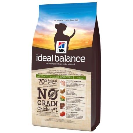 Hill's Canine Ideal B. Adult NO GRAIN kuře a bram 2kg