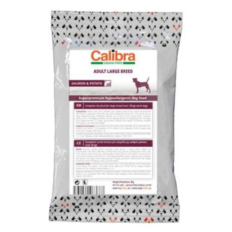 Calibra Dog GF Adult Large Breed Salmon 80g-vzorek NEW