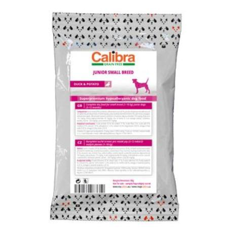 Calibra Dog GF Junior Small Breed Duck80g-vzorek NEW