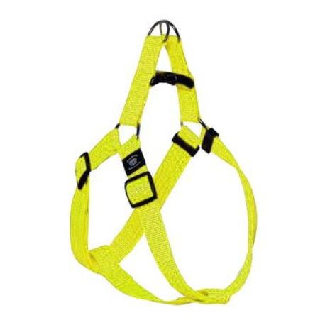 Postroj nylon ART Sportiv reflex 35-60/20 Žlutý KAR1ks