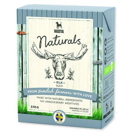 Bozita Dog Naturals Big Elk Los Tetrapak 370g