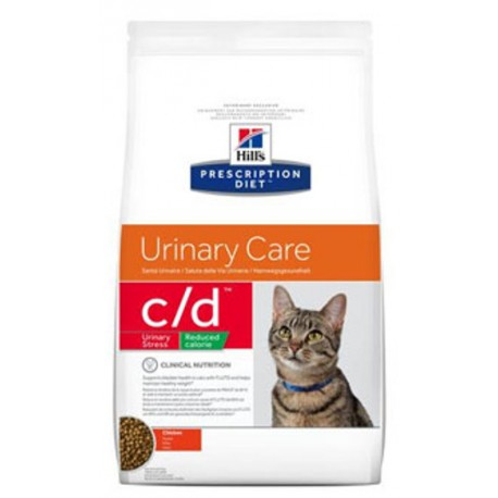Hill's Fel. C/D Dry Urinary Stress Red. Calorie 1,5kg