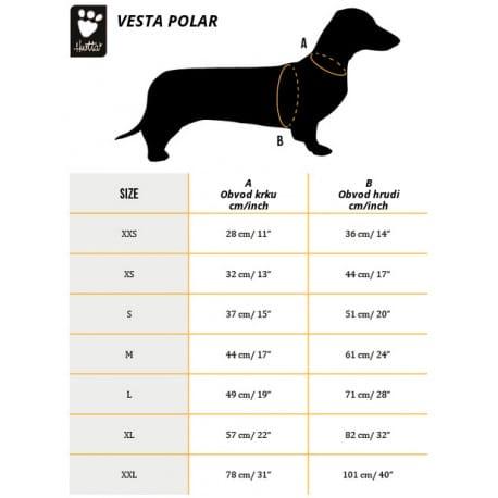 Vesta reflexní Hurtta Lifeguard Polar oranžová XS New