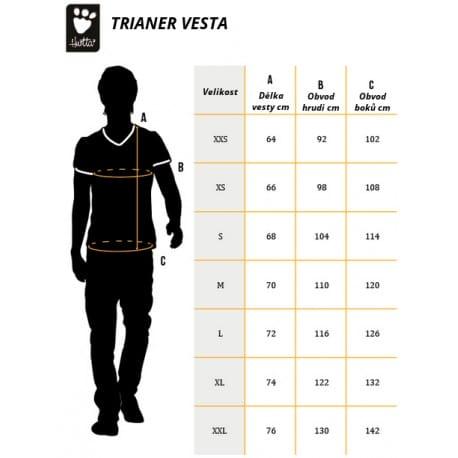 Vesta Hurtta výcviková Trainer vel. XS
