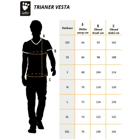 Vesta Hurtta výcviková Trainer vel. XXL