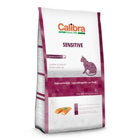 Calibra Cat GF Sensitive Salmon 7kg NEW + Sleva 5% od 2ks