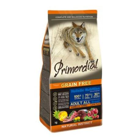 Primordial GF Adult Tuna Lamb 12kg + Sleva 5% od 2ks