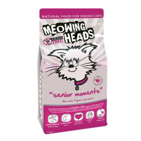 MEOWING HEADS Senior Moments 1.5kg