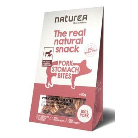 Naturea pamlsky Natural snack pes vepřové žaludky 80g