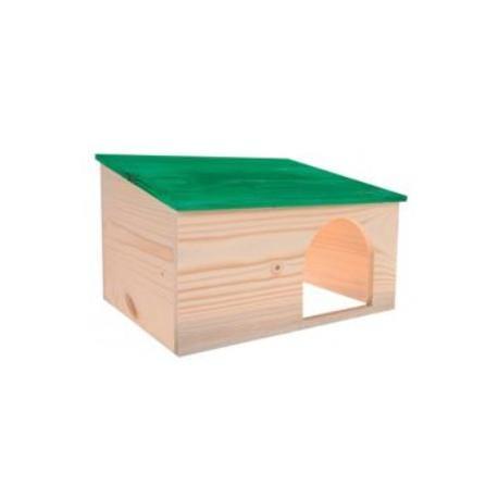 Domek pro hlodavce HUT PLUS dřevěná L Zolux