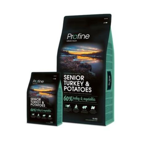 Profine NEW Dog Senior Turkey & Potatoes 15 kg