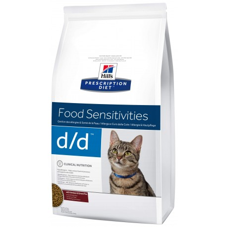 Hill´s Prescription Diet Feline D/D 1,5 kg