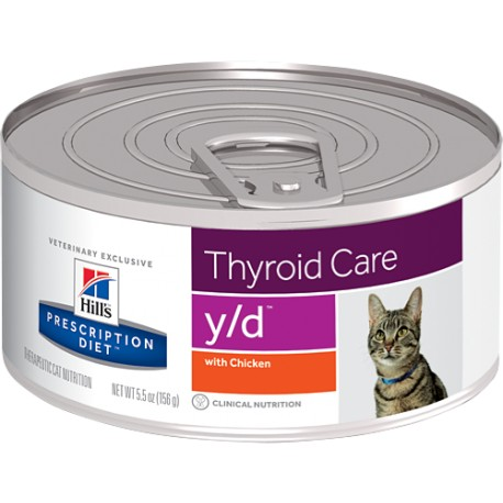 Hill´s Prescription Diet Feline Y/D 156 g