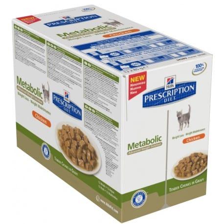 Hill's Feline kapsa Adult Metabolic 12x85g