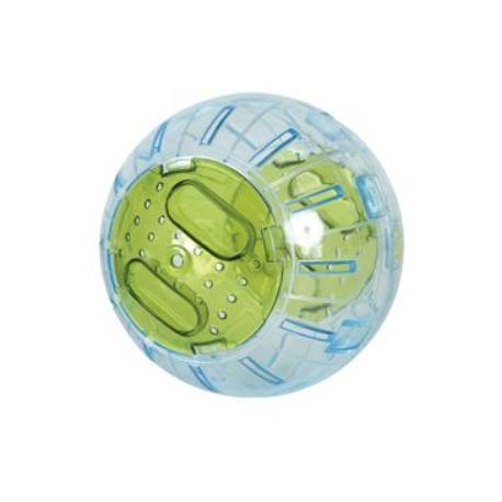 Hračka hlodavec Cvičná koule 12,5 cm zelená Zolux