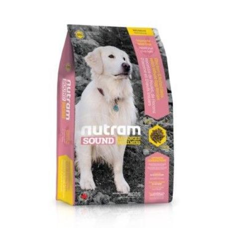 S10 Nutram Sound Senior Dog 13,6kg + Sleva 5% od 2ks