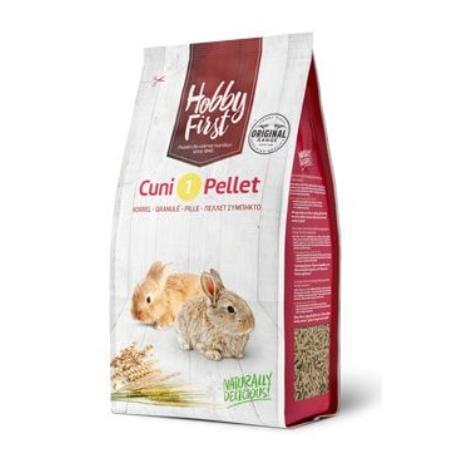 HobbyFirst králík 1 pelety 4 kg
