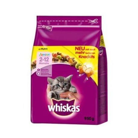 Whiskas Dry Junior s kuřecím masem 950g