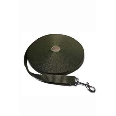 Vodítko DINOFASHION stopovací ploché khaki 10m/2cm
