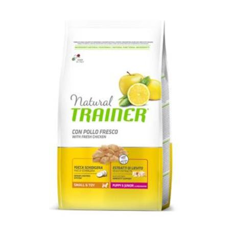 Trainer Natural Puppy Junior Small Toy Kuře 7kg