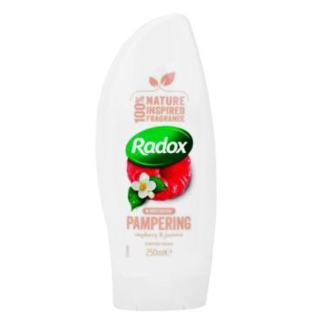Radox sprchový gel dámský Feel Pampered krémový 250ml