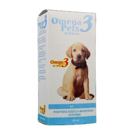 Omega3 pets štěňata 125ml