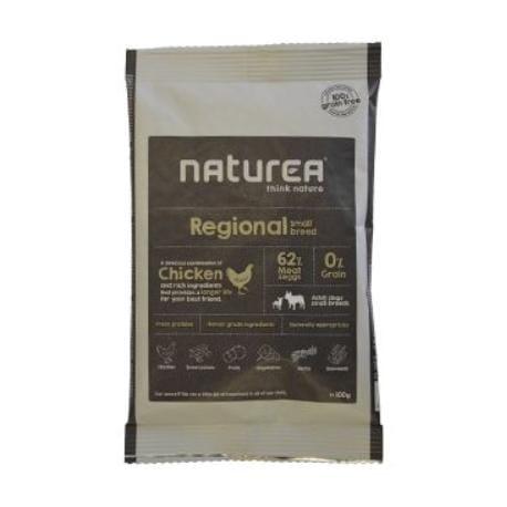 Naturea GF dog Regional - Adult small breeds 100g