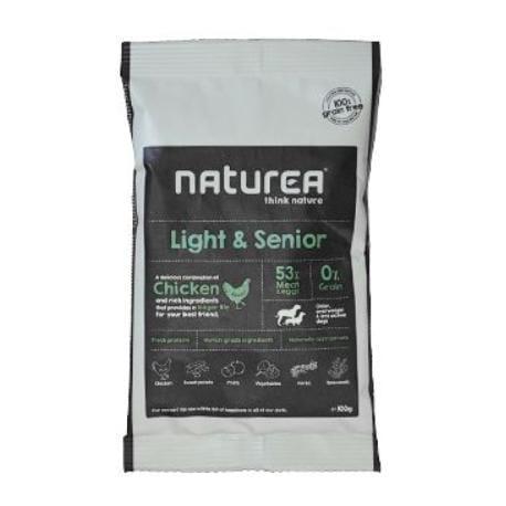Naturea GF dog Light&Senior- all breeds 100g