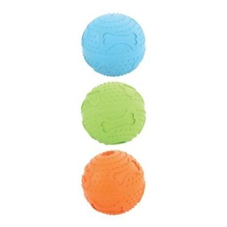 Hračka pes míček gumový TREAT 7,5cm mix barev Zolux