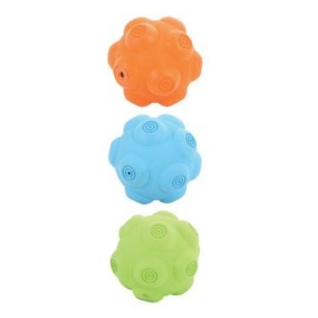 Hračka pes míček gumový ERRATIC 7,5cm mix barev Zolux