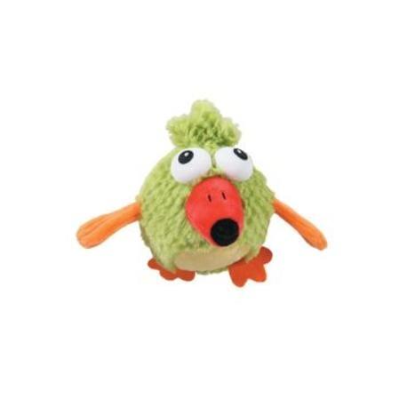 Hračka pes BIRDY PIOU plyš zelená 11cm Zolux