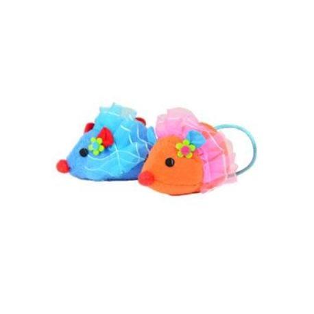 Hračka Kočka Myška Pretty Mouse, 7cm set 2ks Lill