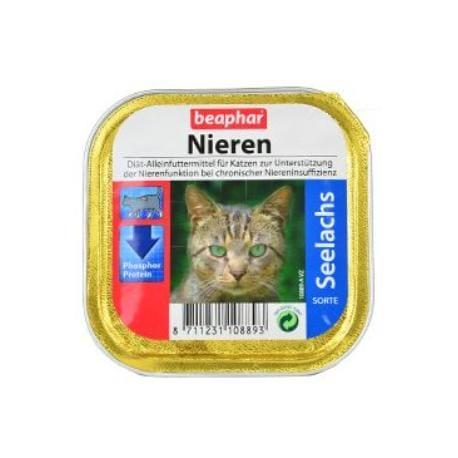 Beaphar Vet paštika Cat Renal treska 100g