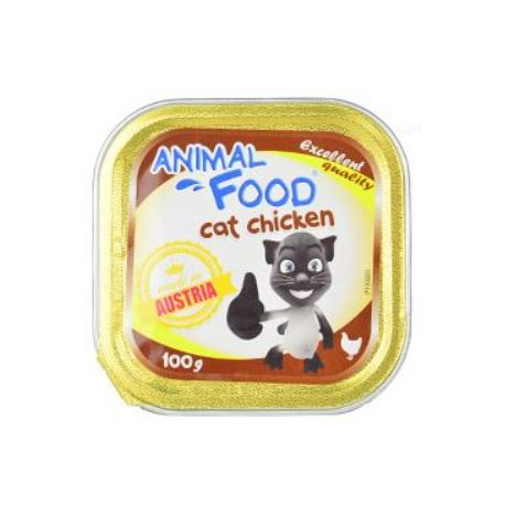 ANIMAL FOOD 100g konz.paštika kočka kuře