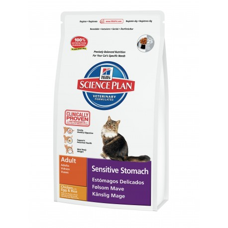 Hill's Feline Dry Sensitive Stomach 400g