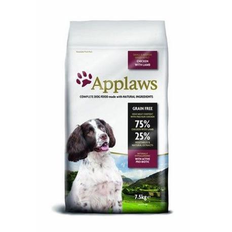 Applaws Dog Adult Small & MediumBreedChicken&Lamb7,5kg