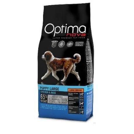 OptimaNova dog Puppy Large 12kg + Sleva 5% od 2ks