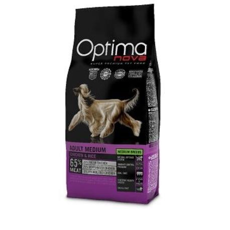 OptimaNova dog Adult Medium 12kg + Sleva 5% od 2ks
