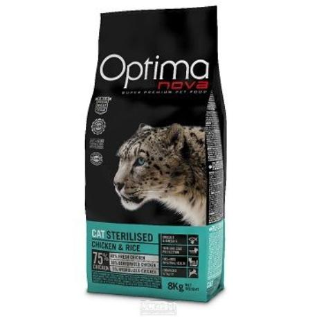 OptimaNova cat Sterilized 8kg