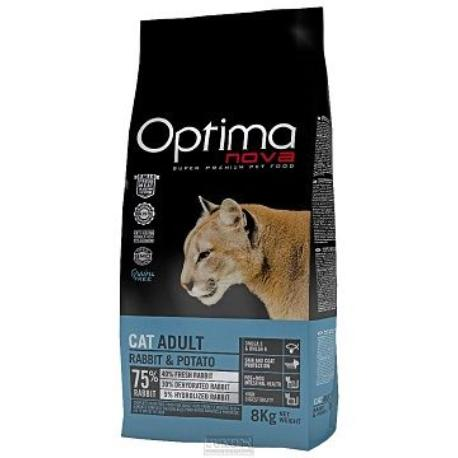 OptimaNova cat Rabbit Grain Free 8kg