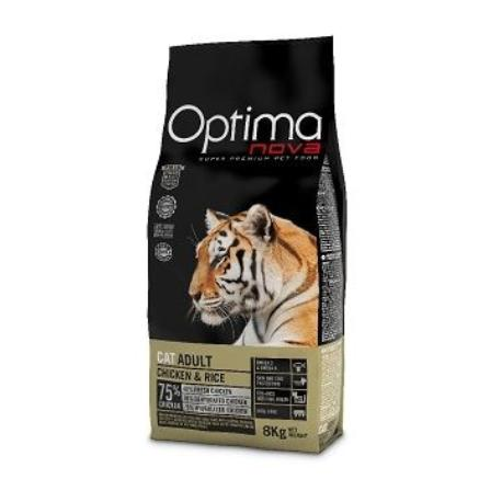 OptimaNova cat Adult Chicken&Rice 8kg