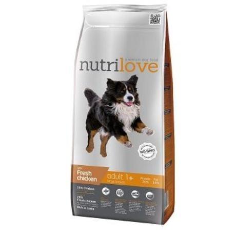 NutriLove Adult L fm kuřecí 12kg